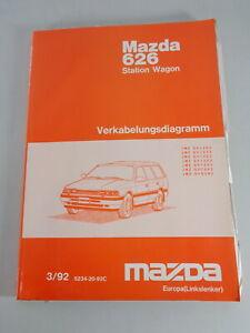 Workshop-Manual-Mazda-626-Station-Wagon-Electric-Schematics-Stand-03-1992