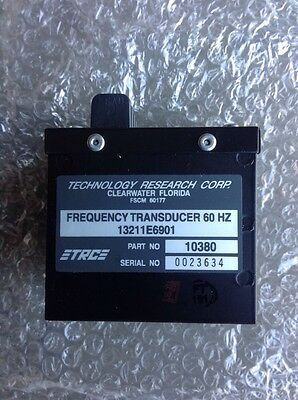 NEW Frequency Transducer 60 HZ 13211E6901 P//N 10380