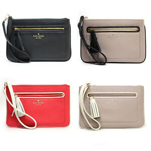 New-Kate-Spade-New-York-Chester-Street-Tinie-Pebbled-Leather-Wristlet