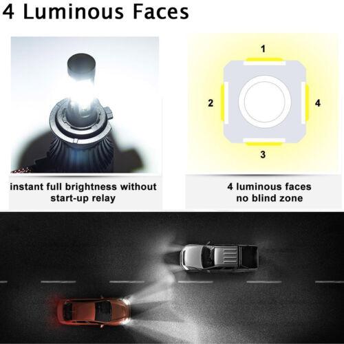 5202//2504 Fog Lights for Chrysler 300 2011 2013 2014 9012 LED Headlight Bulbs