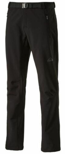 McKinley Hommes Randonnée Outdoor-Softshell Pantalon Shalda II Noir