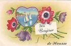 BELGIQUE BELGIUM HOUSSE un bonjour de timbre belge