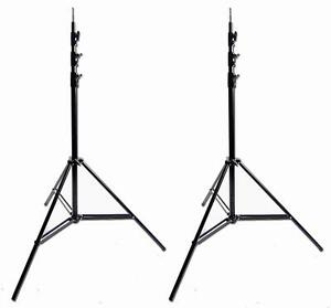 2 x 10 Ft 300cm Photo Video Studio Lighting Light Stand