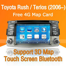 Car Dash DVD Player GPS Navigation Radio Stereo for Toyota Rush Daihatsu Terios