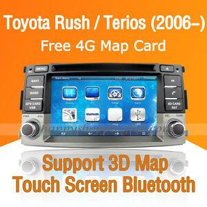 Details about Car Dash DVD Player GPS Navigation Radio Stereo for Toyota  Rush Daihatsu Terios