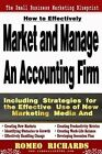 How to Effectively Market and Manage an Accounting Firm by Romeo Richards (Paperback / softback, 2013)