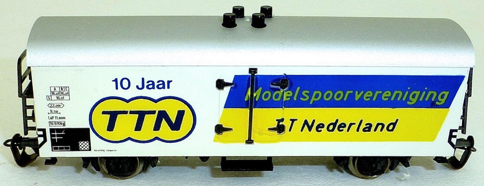 10J Modelspoorvereniging Tt Nederland Ttn 1982-1992 Carro Merci Å