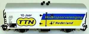 Copieux 10j Modelspoorvereniging Tt Pays-bas Ttn 1982-1992 Wagon De Marchandises Å