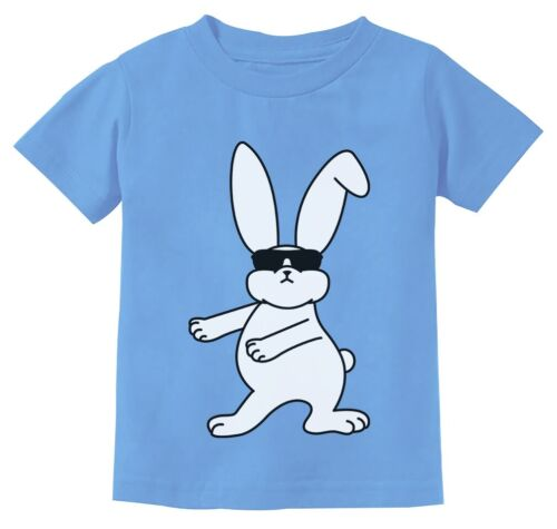 Cool Easter Bunny Shirt Floss Funny Boys Easter Shirt Youth Kids T-Shirt