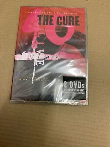 THE-CURE-40-LIVE-CUREATION-25th-ANNIVERSARY-2dvd-NEW-amp-SEALED