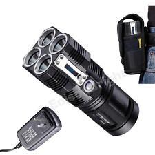 Nitecore TM26 4000 lumen Tiny Monster Flashlight/Searchlight  w/ Charger Holster