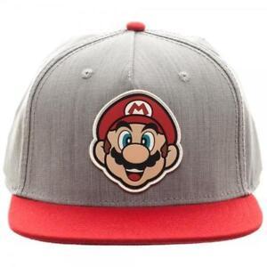 Bioworld SB3FQNSMB Mario Rubber Sonic Weld Snapback Hat for sale ... 3c3c08567fb4