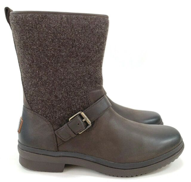 Ugg Robbie Waterproof Boot Leather