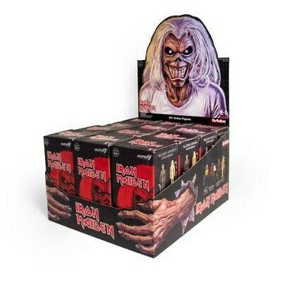 12 Packs ReAction Iron Maiden 3.75-Inch Mystery Minis Blind Box