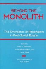 Beyond the Monolith: The Emergence of Regionalism in Post-Soviet-ExLibrary
