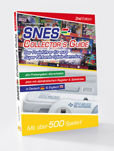 NEU-SNES-Collector-s-Guide-2nd-Edition-der-Nintendo-Preis-Guide-portofrei