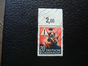 Germany-Rfa-Stamp-Yvert-Tellier-N-48-Cancelled-A37