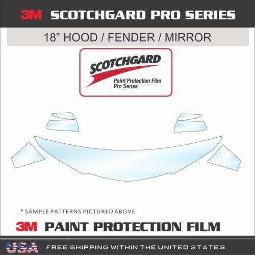 3M Scotchgard Pro Series Paint Protection Film Fits 17-18 Audi A4
