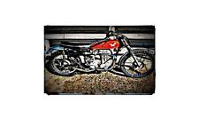 1961 Matchless G80Tcs Bike Motorcycle A4 Photo Poster