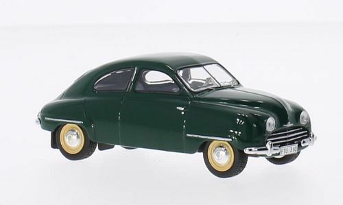 darkgreen wonderful diecast-modelcar SAAB 92b 1954 scale  1//43 Ed. ltd
