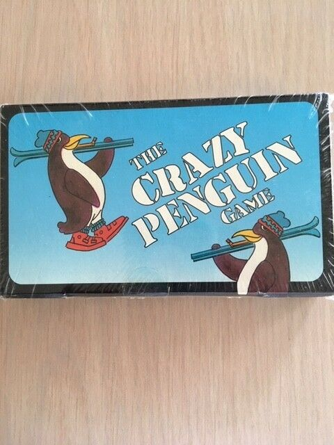 THE CRAZY PENGUIN GAME by Price Stern Sloan Publishing Vintage Unopened 1989