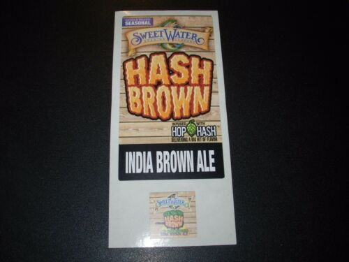SWEETWATER BREWING COMPANY Hash Brown rct STICKER SET decal craft beer brewery