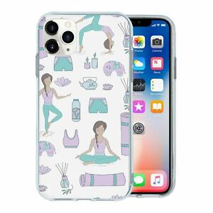 For-Apple-iPhone-11-PRO-Silicone-Case-Yoga-Pattern-S3921
