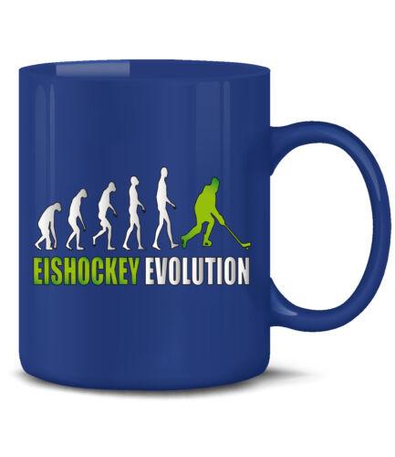 Sport Keramik Becher Teetasse EISHOCKEY EVOLUTION KaffeeBecher