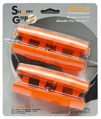 Snappy Grip Egonomic Replacement Bucket Handles 2 N Set Ebay