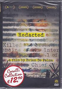 Dvd-REDACTED-di-Brian-De-Palma-nuovo-sigillato-2007