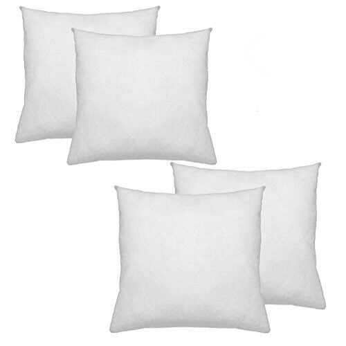 New Pillow Insert Form Square Euro Made in USA Premium ALL SIZES!