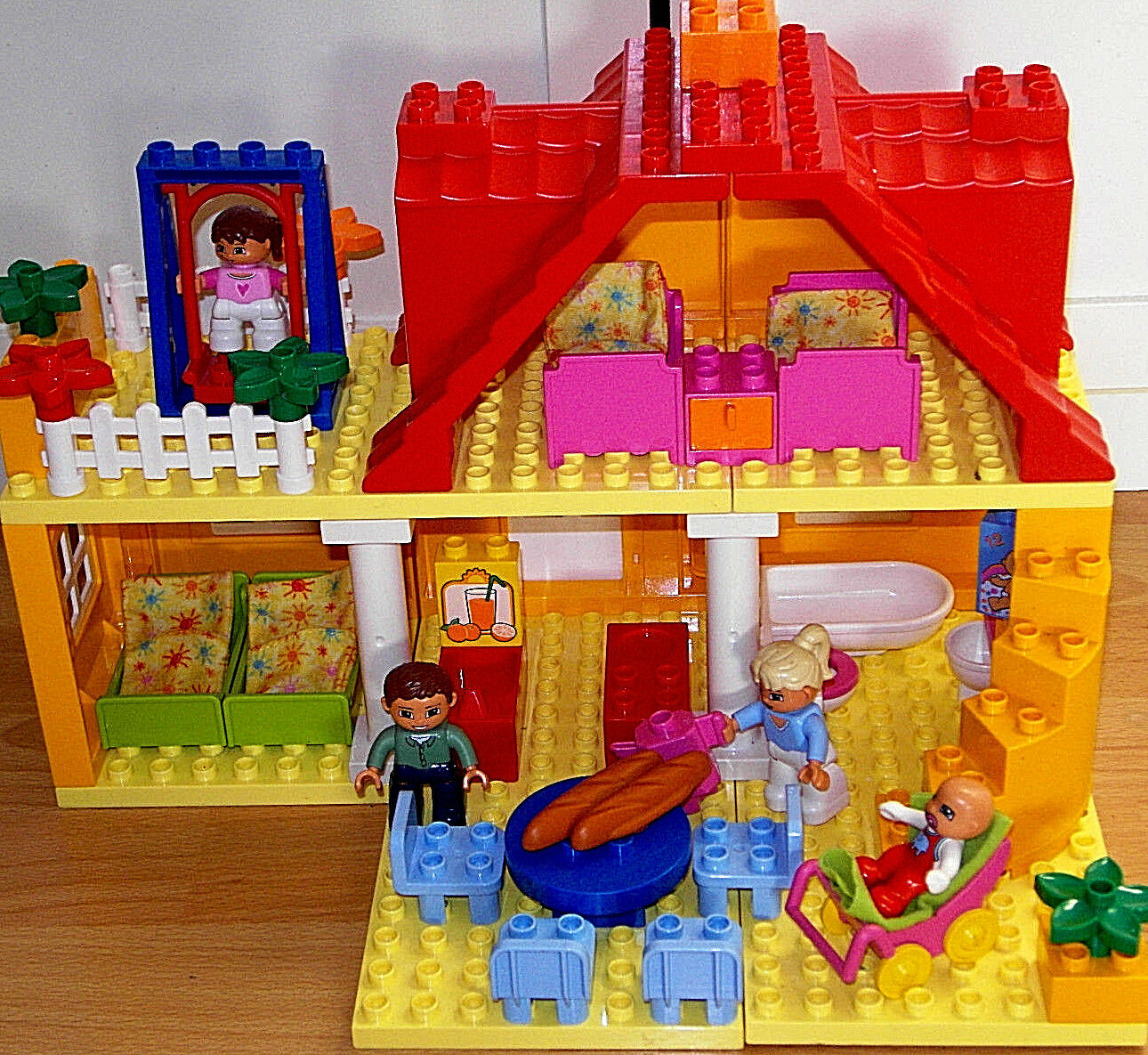 LEGO DUPLO ~ grande casa delle bambole ~ casa familiare ~ 5639 ~ un divertimento creativo