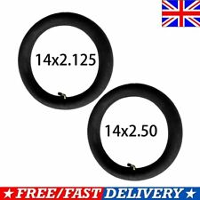 14x2.125//2.50 Electric Bike Butyl Rubber Inner Tube Tyre With A Bent Valve Stem