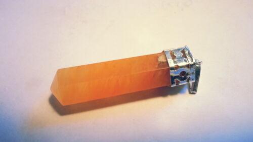 ciondolo pendentif B-WARE Halb Edelstein Anhänger 2,5-4cm Bergkristall u.a