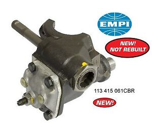 Details about NEW STEERING BOX ALL TYPE 1 & 3 VW BUG BUGGY GHIA EMPI 113  415 061CH, 98-4156-B