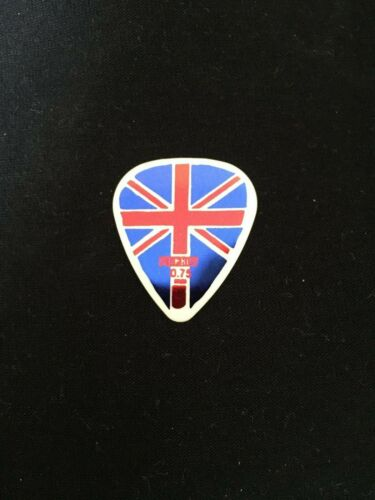 UNION JACK  PACK OF 5 GUITAR PLECTRUMS