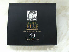 Edith Piaf -The Gold Collection 40 Chansons D'or