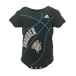 3c5f07367 Image is loading NBA-Oklahoma-City-Thunder-Adidas-Basketball-Infant-Baby-