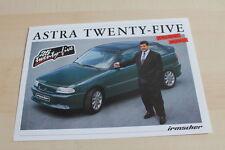 122350) Opel Irmscher Astra - Twenty-Five - Prospekt 05/1993
