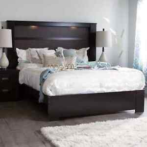 550 Bedroom Set Lighted Headboard New HD