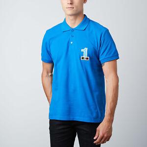 a8b133ed9 Moschino Polo T-Shirt Tee Gym No 1 Logo Signature Blue M, L, XL, XXL ...