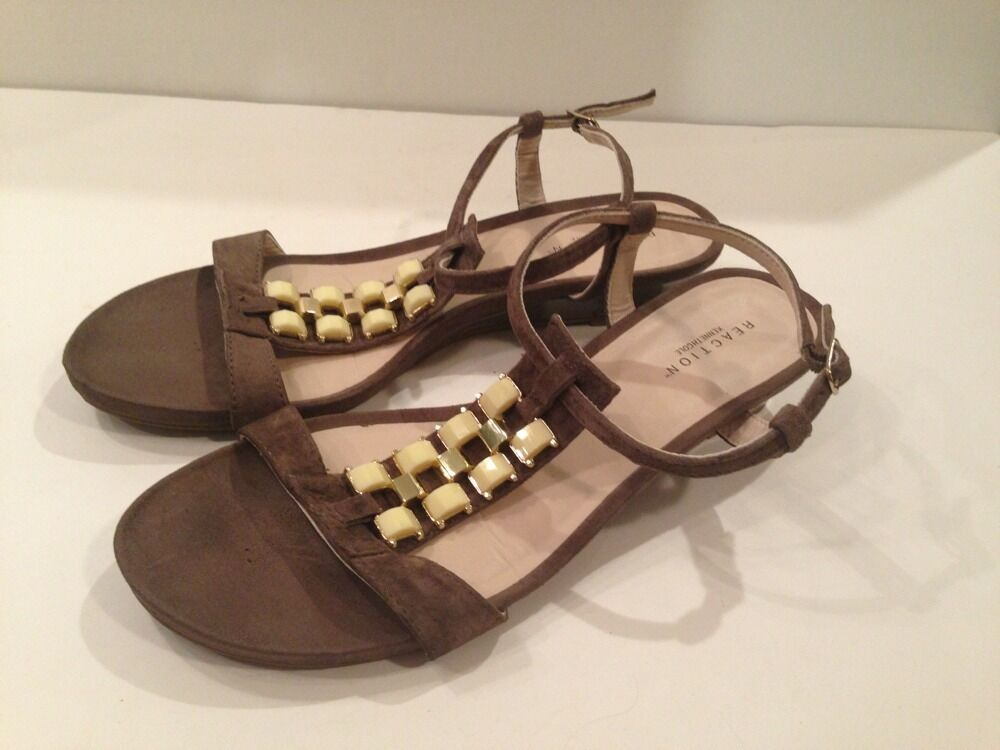 KENNETH COLE REACTION~~SANDALS~~9 CUTE!! 1/2~~VERY CUTE!! REACTION~~SANDALS~~9 Great Condition! ee2a2e