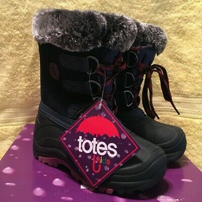 """Girls Totes  WINTER SNOW BOOTS /""""BUNNY PINK/"""" MSRP$39.99 MULTIPLE SIZES NEW IN BOX"""