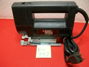 BLACK & DECKER ELECTRIC JIGSAW #7543 3200 SPM 2.2A TYPE 3 PRE-OWNED TESTED WORKS