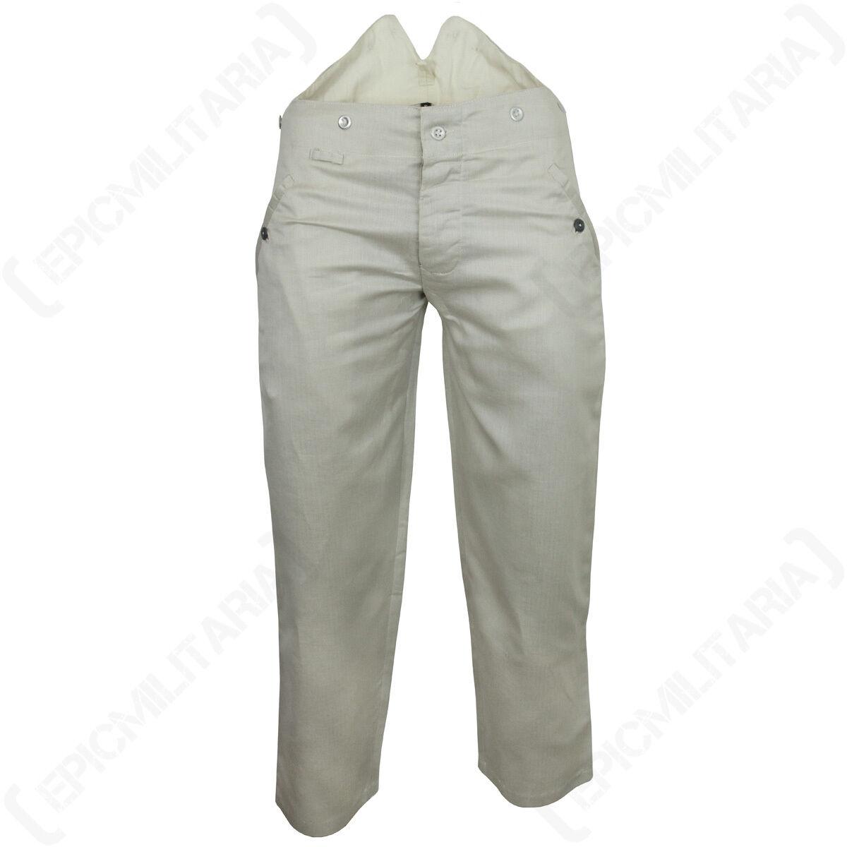 WW2 Deutsche HBT Arbeiter Hose - Reproduktion Militär Soldat Uniform Baumwolle