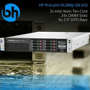 HP-DL380p-G8-8-SFF-Configurable-Rackable-Server-2x-Xeon-Six-or-Eight-Core-96GB