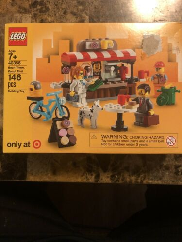 LEGO 40358 Target Exclusive Bean There Donut That New