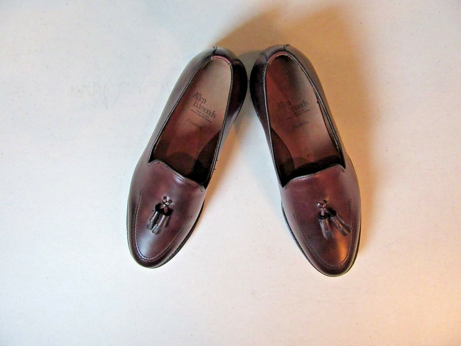 345 New in Box  Allen Edmonds Franklin dress shoe in Merlot size 10 D