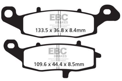 FIT KAWASAKI VN 1500 D1//D2//E1//E2 Classic 96/>99 EBC FRONT ORGANIC BRAKE PADS