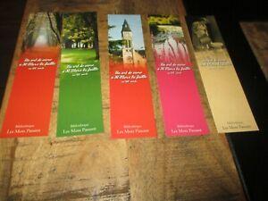 Marques pages collectors-Lot,Les mots passant-ST Mars la Faille